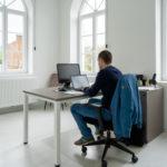 Des bureaux spacieux et lumineux
